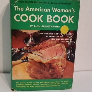 """1972 """"The American Woman's Cookbook"""""""